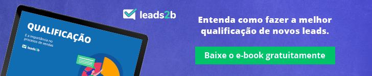 Ciclo de vendas - qualificação de leads